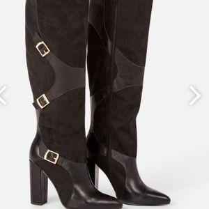 NWT / Yelda Buckle Tall Boots